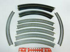 AT822-1# 20 x Fleischmann Riel de modelismo H0/DC Piezas de vía: Núm 06 + 6024,