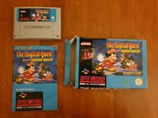 The magical quest mickey mouse snes