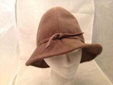 Vintage Ladies Hat Mr. Kurt Original Soft Brown Wool Excellent Tied in Front