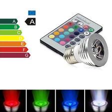 Wireless 3W MR16 RGB Magic LED Highlight Spotlight Bulb Cup With Remote Control