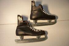 New listing Vintage Rally Bobby Orr Black Leather Ice Skates Size 10