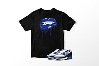 Drippy Lips Graphic T-Shirt To Match Air Max 90 Hyper Royals All Sizes