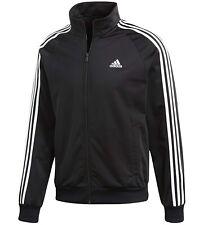 Herren Adidas Trainingsanzug Track Top Jacke Trainingsoberteil Jacken - Schwarz