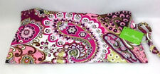 Vera Bradley Very Berry Paisley Ditty Bag Gym Pool Lunch New Pink Flower