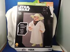 New Disney Star Wars Yoda Costume Toddler 3T/4T  Comic Con Cosplay Dress Up