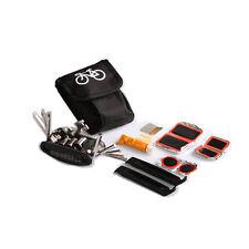 Portable MTB Bike Bicycle Cycling Tire Tyre Repair Tools Pump Kit Bag Glue Patch