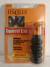 Hunter's Specialties Squirrel Call H.S. Calls 08201 NEW - NO CASSETTE TAPE