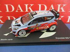 Die cast 1/43 Modellino Auto Hyundai i20 WRC Rally Monte Carlo 2014 T.Neuville