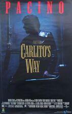 CARLITO'S WAY POSTER, PACINO (E7)