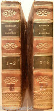 Histoire de Napoléon-Le-Grand Charles-R.-E de Saint-Maurice 4 tomes en 2 1830