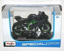 Maisto - KAWASAKI NINJA H2 R (Black) - Motorbike Model Scale 1:18