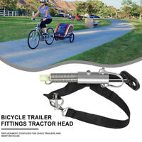Universal Bike Bicycle Coupler Trailer Attachment Baby Linker Connector Adapter,
