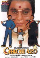 CHACHI 420 - EROS BOLLYWOOD DVD -  Kamal Haasan, Tabu, Amrish Puri, Om Puri.