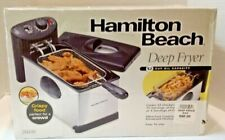 New listing Sealed in Box! Hamilton Beach Deep Fryer Large Capacity #35030 Perfect 4 crowds!