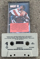 1985 Rocky IV Movie Soundtrack Cassette Tape (CBS Records) Eye of The Tiger Song