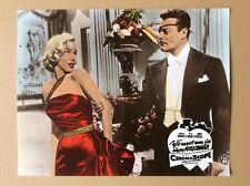 Wie angelt man sich einen Millionär (Kinoaushangfoto ´60) - Marilyn Monroe