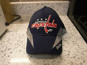NEW Washington Capitals Reebok Center Ice Flex Fitted FitMax 70 Hat Size S/M
