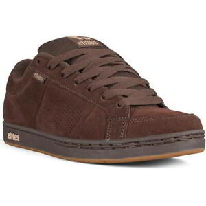 Etnies Kingpin Mens Brown Skate Shoes Trainers Size UK 7-13