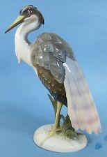 Rosenthal Figur Fischreiher / Heron - M.H. Fritz top gross - #9551
