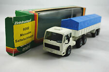 GAMA 9282 MERCEDES-BENZ Truck & 2 Axle TRAILER with TILT Cover Made in Germany