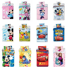 Disney Minnie Mickey Mouse Princess Cars Winnie the Pooh Bettwäsche 100x135 cm
