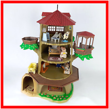 Sylvanian Families Old Hollow Oak Treehouse Furniture Figures Calico Critters