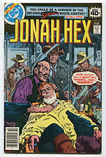 Jonah Hex # 21 Fine Yore Invited To Boot Hill Funeral,Hex Yours DC Comics CBX1S