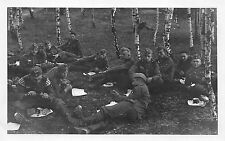 Foto Wehrmacht soldados pionero de batallón 14. contribución Rast
