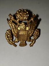 "NS Meyer Inc U.S. Military Eagle Insignia Badge,  1"" x 1/2"",  Preowned"