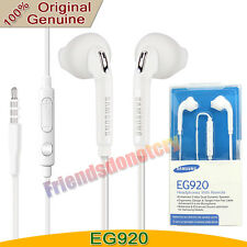 Original Samsung Galaxy S6 S7 Edge S8 S9 + Note 8 Headset Earphone Earbud EG920