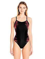 Speedo Women's Pro Lt Interference Glow Flyback One Piece Swimsuit Siz 6/32~NWT