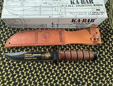Kabar USMC fighting knife. VIETNAM MEMORIAL 1961-1975 FREEDOM LIVES
