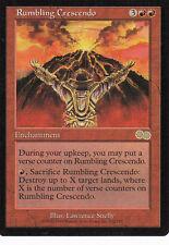 """""""Rumbling crescendo """"Urza 's Saga Engl. MTG-FBB card non riprodotto M./M. 1778"""