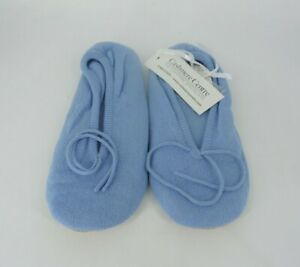 Ladies Cashmere Slippers UK 6-7 RRP £55 LN019 BB 16