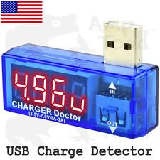 USB Charge Detector (Amperage & Voltage)