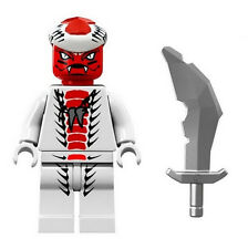 NEW LEGO NINJAGO SNAPPA MINIFIGURE minifig figure 9442 9564 red white snake toy