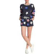 Splendid Fourth Of July Liberty Active Shorts, Navy Multi Star, XL
