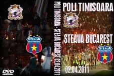 dvd poli timisoara-steaua bucuresti 2011  - ULTRAS