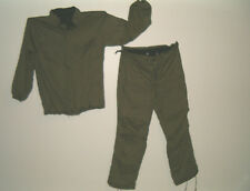Protective Military Issue Chemical Suit Size Small Jacket & Trousers Sealed