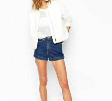 Paul&Joe Sister Bomber Jacket in Textured Fabric White EU42 uk size16 RRP£195.00