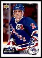 1992-93 Upper Deck Brian Leetch #284