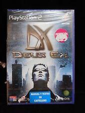Deus Ex para  playstation2 PAL nuevo y precintado.
