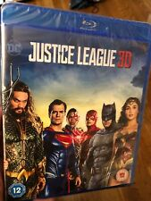 Justice League 3D Blu-ray - Brand New - Batman Wonder Woman Flash Aquaman