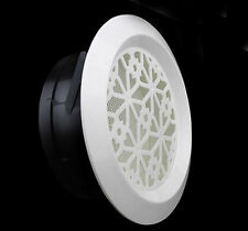 """4"""" Ceiling Mount Air Vent Grille Diffuser Ducted Hole Ventilation - Snap-In"""