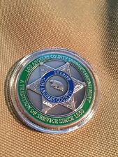 LASD LAPD Los Angeles Sheriff Department Challenge COIN new Sealed copper style