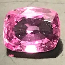 Natural 0.55 Carat Pink Sapphire Cushion Genuine Loose Gemstone