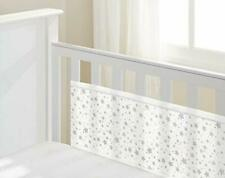 Mesh Liner Twinkle Grey, White, 2 Sided cot