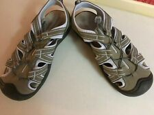Falls Creek Sportsman Olive Size 8 Mens Sandals outdoor hiking beach boat shoes