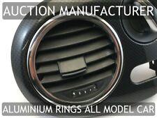 VW beetle 2011+ 2x Anneaux Pour Ventilation Aluminium