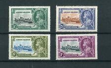 Cayman Islands KGV 1935 Silver Jubilee set MH